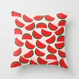Cute Watermelon Throw Pillow