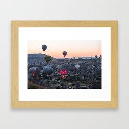 Cappadocia Dawn Framed Art Print