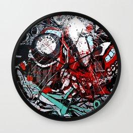 Atto di colore #4 Wall Clock