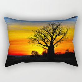 The Many Colours of Kununurra Rectangular Pillow