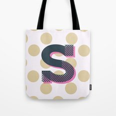 S is for Sweet Tote Bag