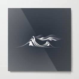 Mystic Mountain Metal Print