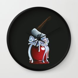 Disneyland Haunted Mansion inspired Haunted Bride Candied Apple  Wall Clock