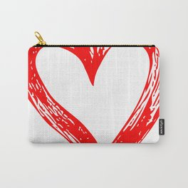 Big red heart 01 Carry-All Pouch