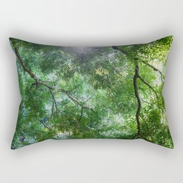 green light Rectangular Pillow
