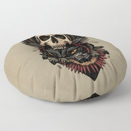 Hunt Or Be Hunted Floor Pillow