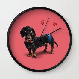 Butt (Colour) Wall Clock