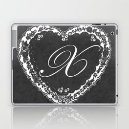 X Vintage Valentine Chalkboard Laptop & iPad Skin