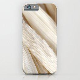 Dried Corn Husks iPhone Case