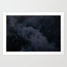 Acqua Nebulae 1 Art Print