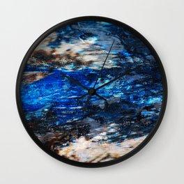 Nautical Blues Wall Clock