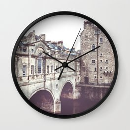 Pulteney Bridge Wall Clock