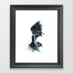 Feeling emu? Framed Art Print