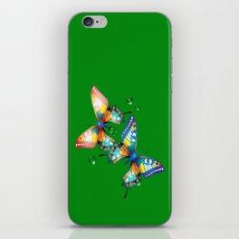 Schmetterlinge iPhone Skin