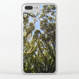 Tree-tops Clear iPhone Case