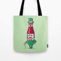 Sir Fancy Ketchup Tote Bag