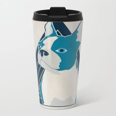 In Dog We Trust. Metal Travel Mug