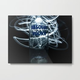 Absolutely Absolut Metal Print