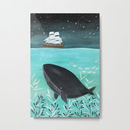 Sail away with me Metal Print
