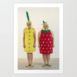 Fruity Booty Art Print