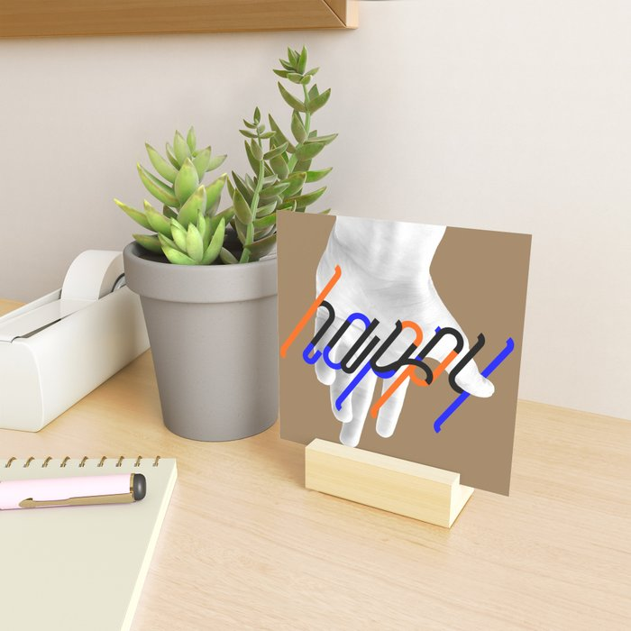 Be Happy Mini Art Print