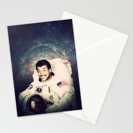 Neil deGrasse Tyson - Astronaut in Space Stationery Cards