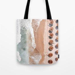 Aerial Beach Print, Beach Photography, Aerial Photography, Blue Ocean Print, Sea Beach Print Tote Bag