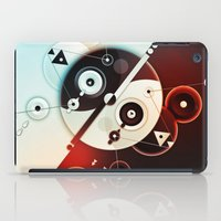ying yang iPad Cases featuring Ying-Yang Blue Version by Luis Pinto