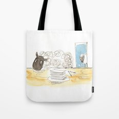 Sheeps loves papers Tote Bag