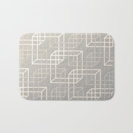 Linked Squares Bath Mat