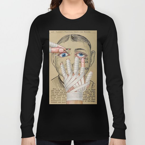 IMPRACTICAL CHARACTER Long Sleeve T-shirt