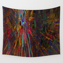 Re-Created Rapture 4 by Robert S. Lee Wall Tapestry