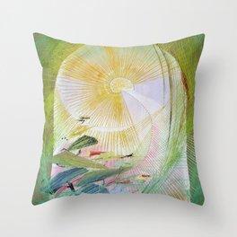 12,000pixel-500dpi - Japanese modern interior art #61A Throw Pillow