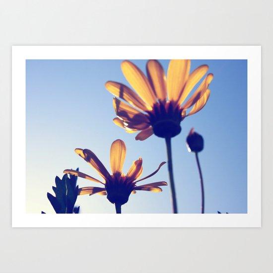 Spring Comes Art Print