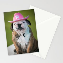Cowgirl Puppy Stationery Cards
