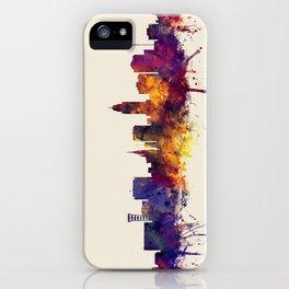 Lincoln Nebraska Skyline iPhone Case