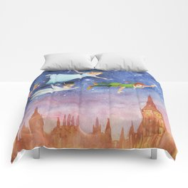Peter Pan Sunset Nursery Decor Comforters