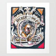 Sucker of the Week Art Print