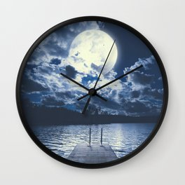 Bottomless dreams Wall Clock