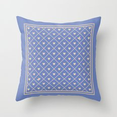 Never Far Away (colors: deep dusk) Throw Pillow