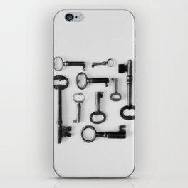 Skeleton Keys iPhone Skin
