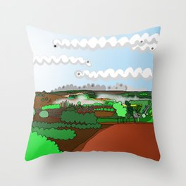 Balingup, Western Australia Throw Pillow