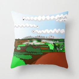 Balingup, Western Australia - Aussie Art Throw Pillow