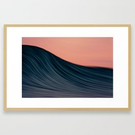 Arataki Brush Strokes Framed Art Print