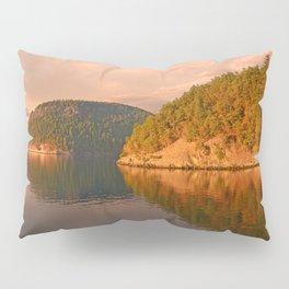 NOVEMBER SUNSET IN THE SAN JUAN ISLANDS Pillow Sham