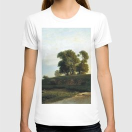 View Of Lakhta Near St Petersburg 1850 By Lev Lagorio | Reproduction | Russian Romanticism Painter T-shirt
