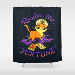 Reading Your Fortune Shower Curtain