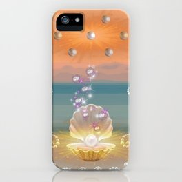 Pearlized Stardust I iPhone Case