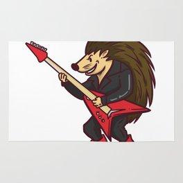 Guitar hedgehog Rug