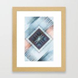 Messy Pattern I Framed Art Print